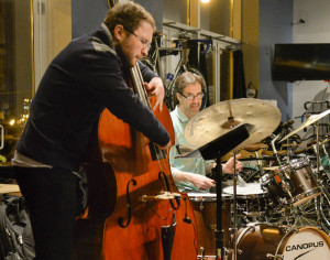 Juli Wood Trio Performs at a Pop-Up Jazz@Ancien Series.